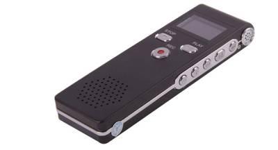 Registratore vocale-audio a doppio microfono